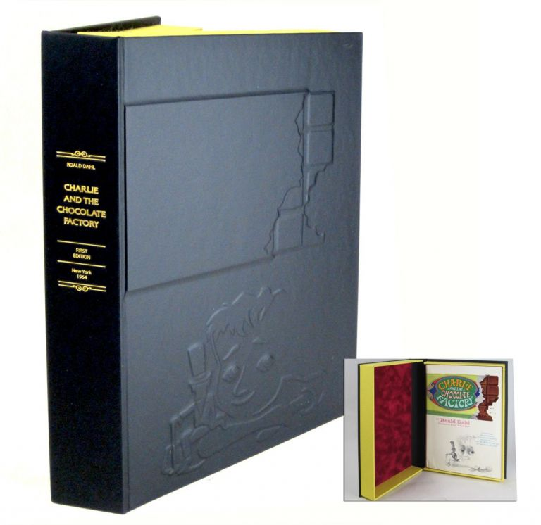 CHARLIE ADN THE CHOCOLATE FACTORY [Collector's Custom Clamshell case only - Not a book]. ROALD DAHL.