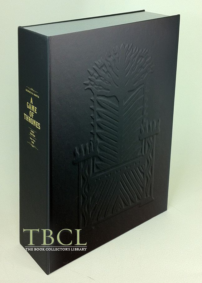 A GAME OF THRONES [Collector's Custom Clamshell case only - Not a book]. George R. R. Martin