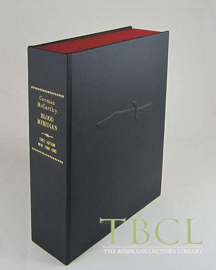 BLOOD MERIDIAN [Collector's Custom Clamshell case only - Not a book]. Cormac McCarthy