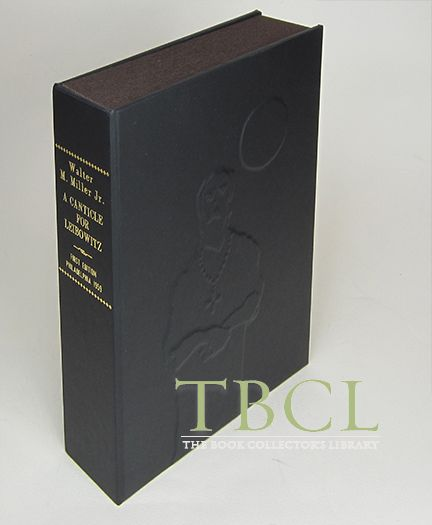A CANTICLE FOR LEIBOWITZ [Collector's Custom Clamshell case only - Not a book]. Walter M. Miller Jr