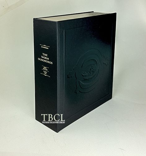 THE WORM OUROBOROS [Collector's Custom Clamshell case only - Not a book]. E. R. Eddison.