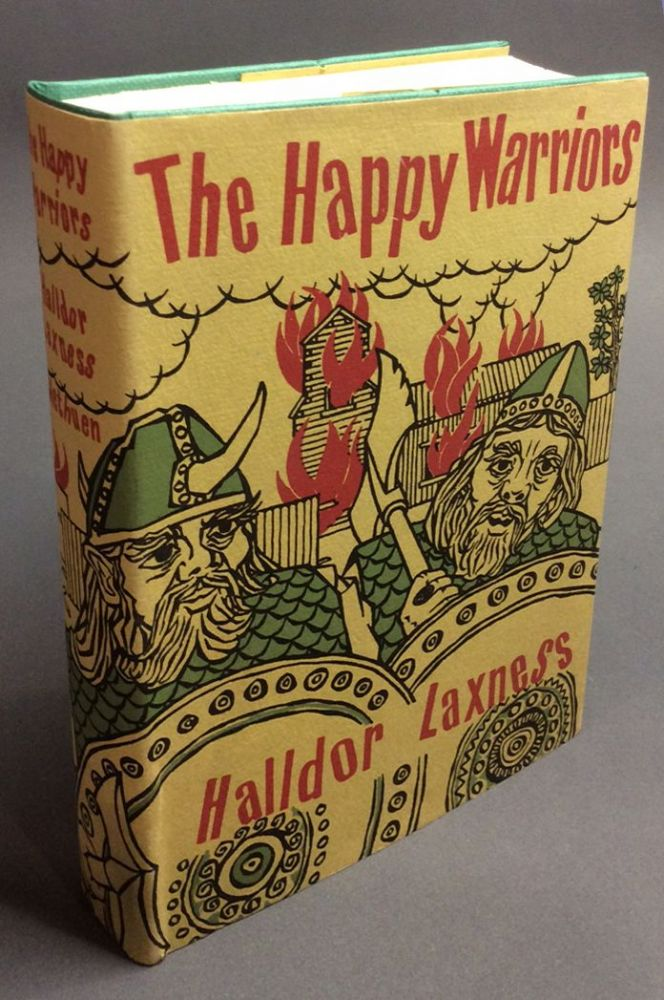 HAPPY WARRIORS. Halldor Laxness.