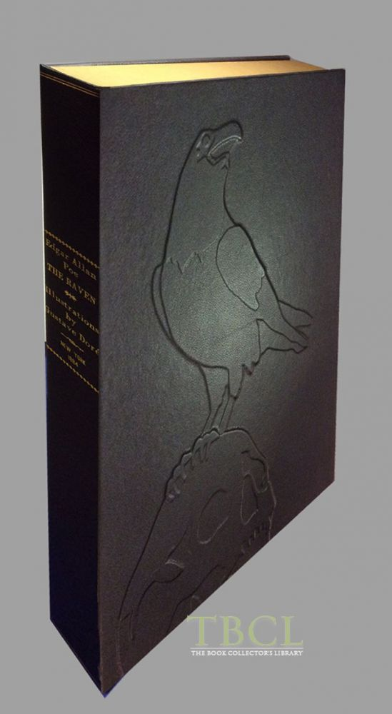 THE RAVEN [Collector's Custom Clamshell case only - Not a book]. Edgar Allan Poe