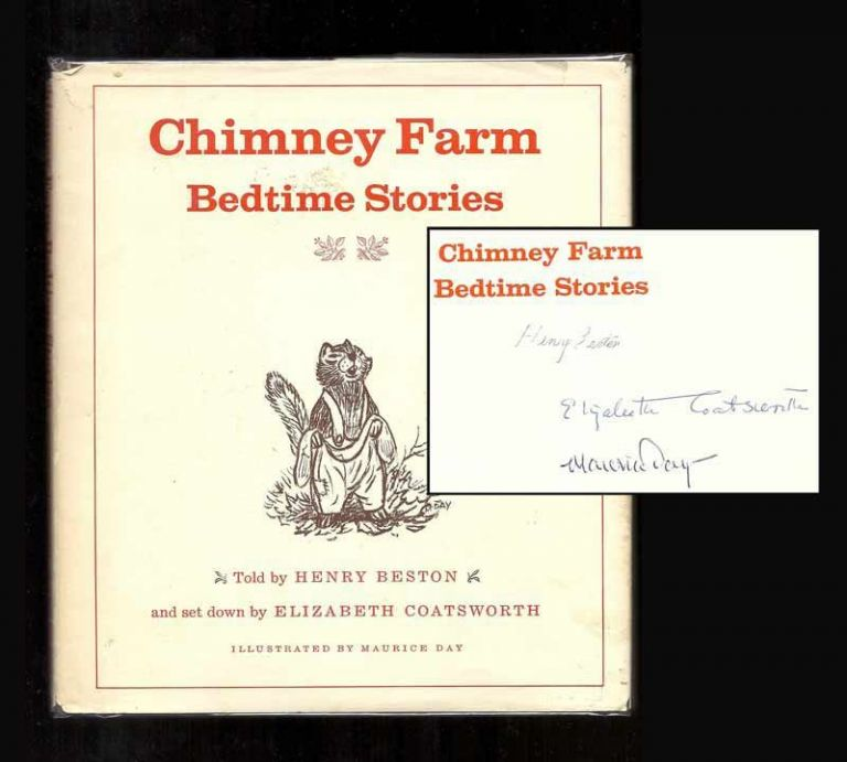 CHIMNEY FARM BEDTIME STORIES. Signed. Henry Beston.