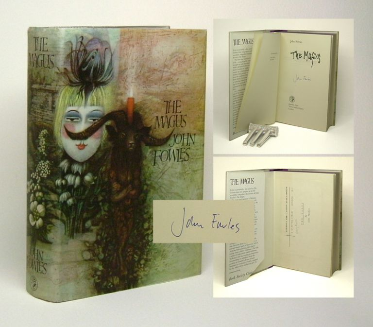 THE MAGUS. Signed. John Fowles.