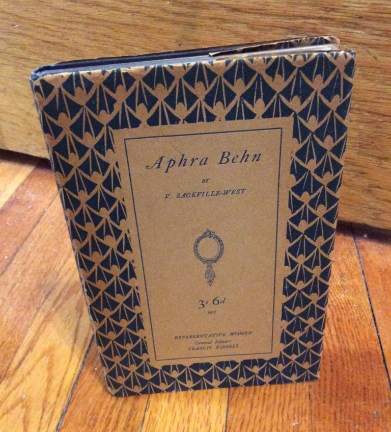 APHRA BEHN. THE INCOMPARABLE ASTREA. Signed. Vita Sackville-West.