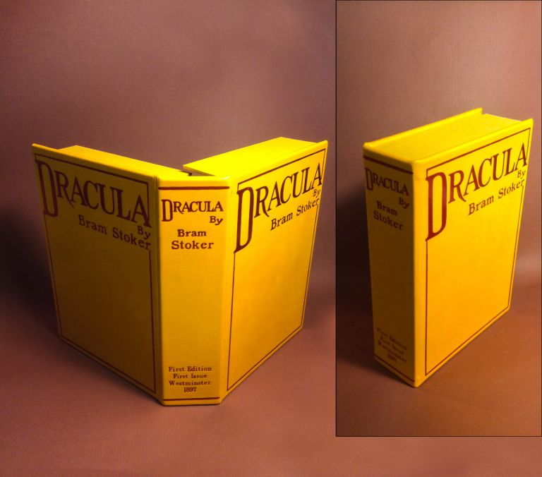 DRACULA [Collector's Custom Clamshell case only - Not a book]. Bram Stoker.