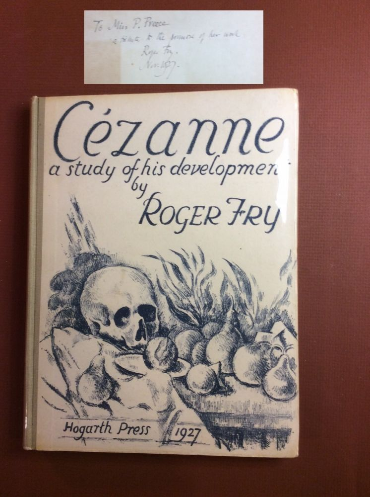 CEZANNE. A Study of His Development. Signed. Roger Fry