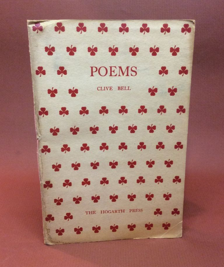 POEMS. Clive Bell.