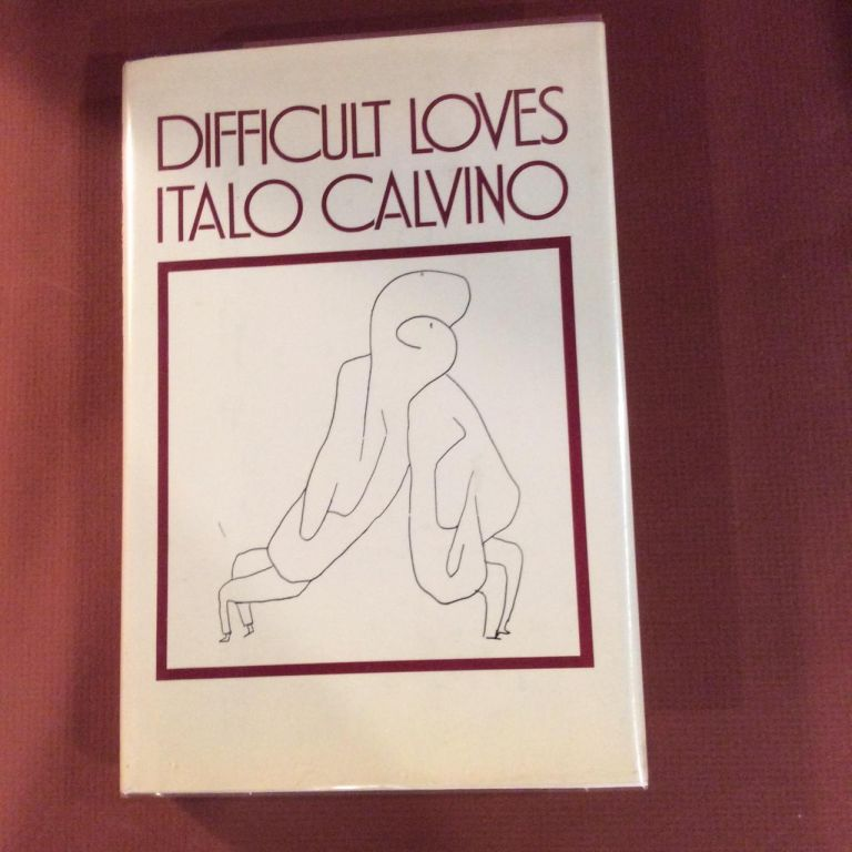 DIFFICULT LOVES. Signed. Italo Calvino.