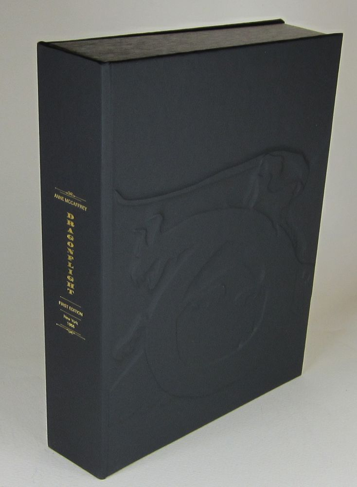 DRAGONFLIGHT - Collector's Clamshell Case Only - BOOK NOT INCLUDED. Anne McCaffrey