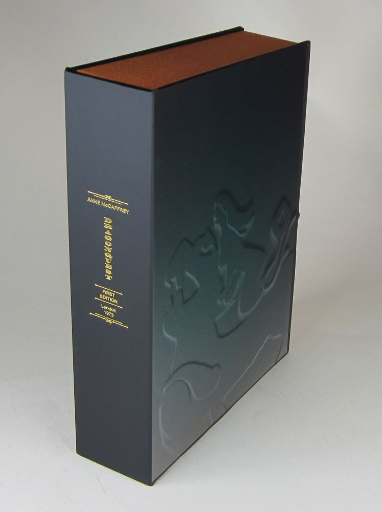 DRAGONQUEST - Collector's Clamshell Case Only - BOOK NOT INCLUDED. Anne McCaffrey.