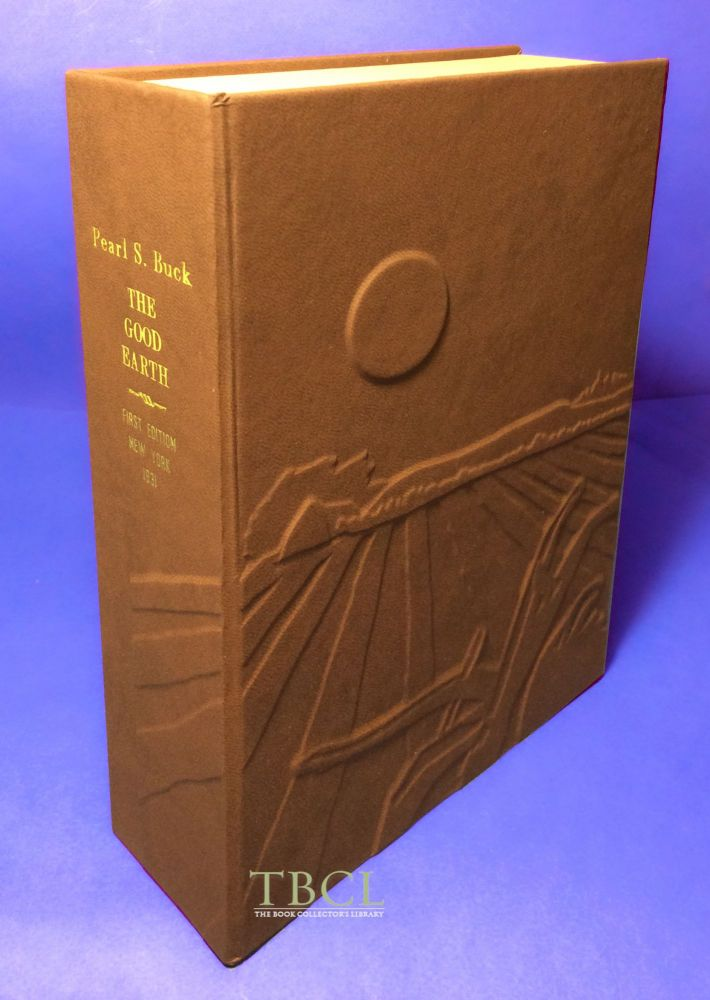 THE GOOD EARTH [Collector's Custom Clamshell case only - Not a book]. Pearl S. Buck