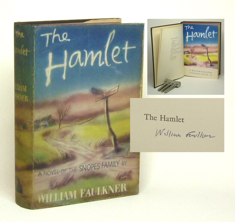 THE HAMLET. Signed. William Faulkner