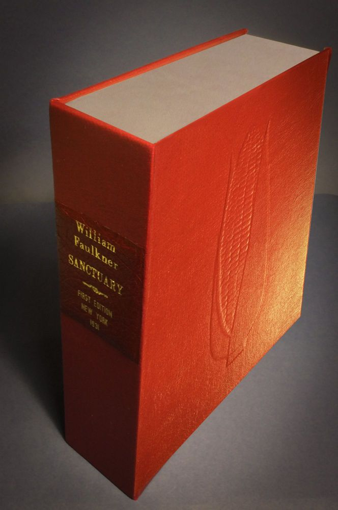 SANCTUARY [Collector's Custom Clamshell case only - Not a book]. William Faulkner