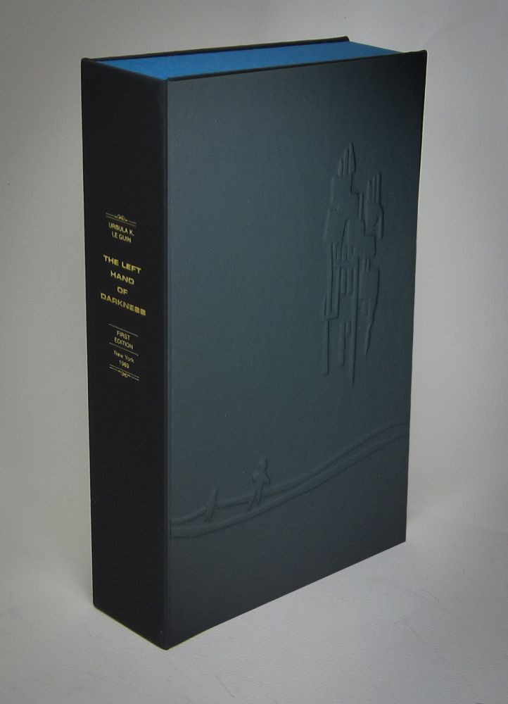 THE LEFT HAND OF DARKNESS [Collector's Custom Clamshell case only - Not a book]. Ursula K. Le Guin.