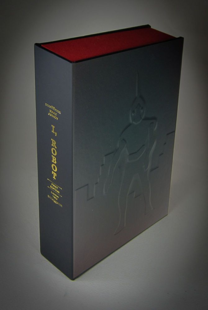 I ROBOT. (BRITISH EDITION) [Collector's Custom Clamshell case only - Not a book]. Issac Asimov