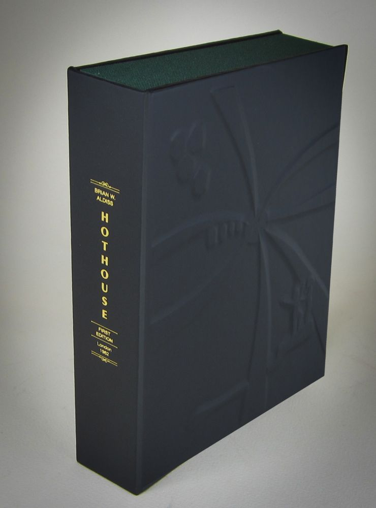 "HOTHOUSE (Collector's Custom Clamshell Case Only ""NO BOOK INCLUDED""). Brian W. Aldiss"