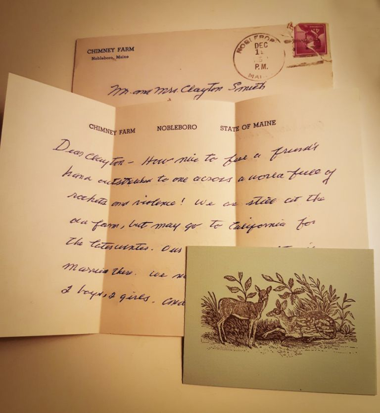 "Christmas Greetings during the time of the Vietnam war. ""HOW NICE..."