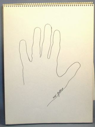 THE POET'S HAND BOOK. Signed By 24 Poets with Drawings.