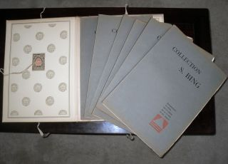 COLLECTION S. BING. Objets d'art et peintures du Japon et de la Chine. 6 Magnificent Volumes Complete / Portfolio