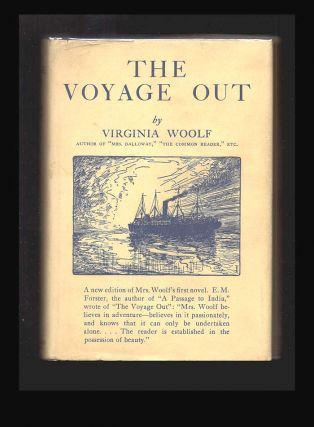 THE VOYAGE OUT. In Dustwrapper