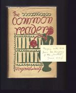 THE COMMON READER. Vanessa Bell Signed Presentation Copy.