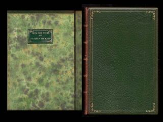 ORLANDO. A Biography. Morocco Presentation Binding.