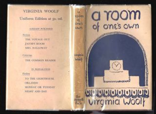 A ROOM OF ONE'S OWN. Leonard Woolf Presentation Copy